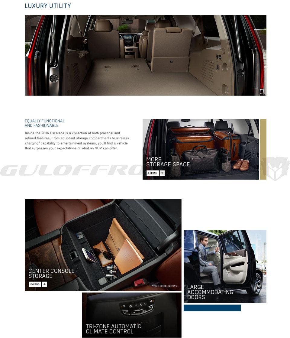Interior Cadillac Escalade España
