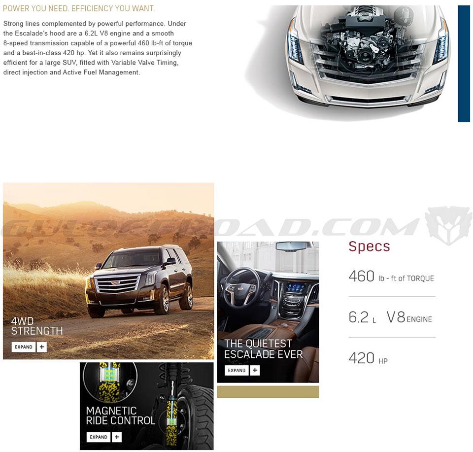 Motor Cadillac Escalade España