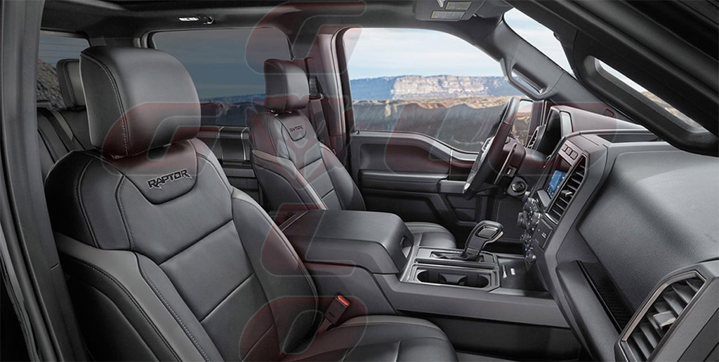 Interior Ford F-150 RaptorGuloffroad