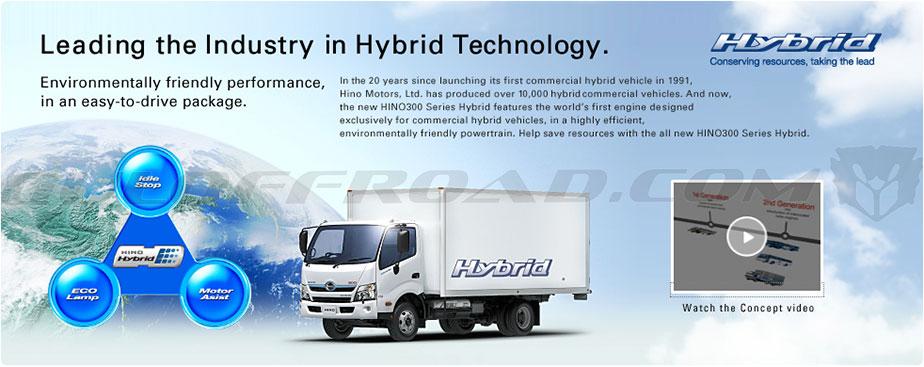 HINO300 Series Hybrid Guloffroad