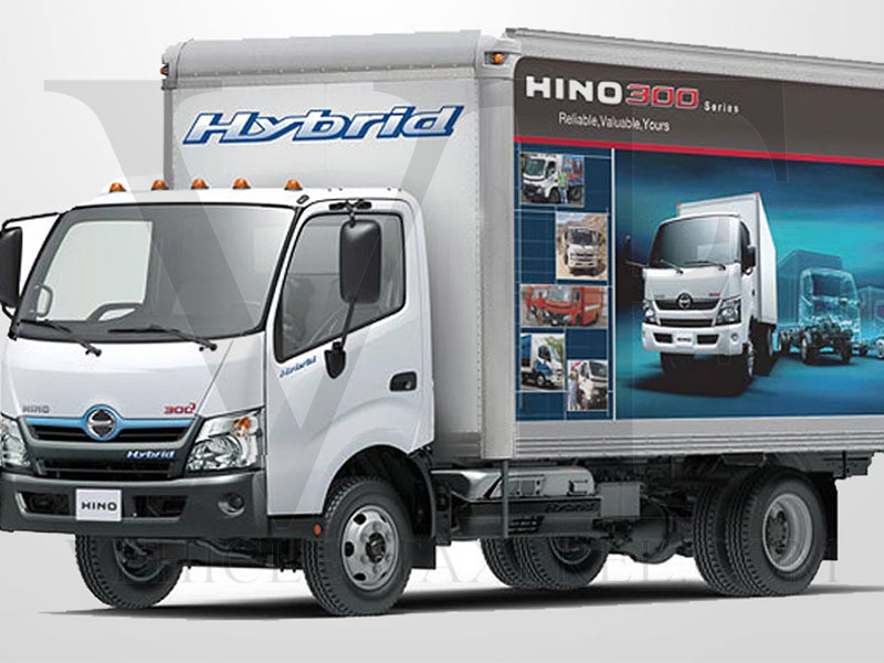 Gama Camiones HINO300 Series Hybrid Toyota Vehicles Tax Free