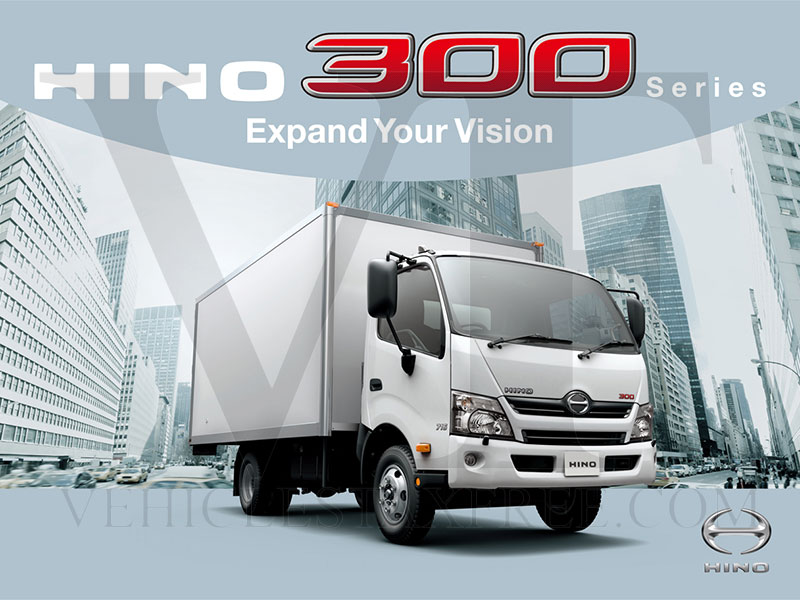 Gama Camiones HINO300 Series Toyota Vehicles Tax Free