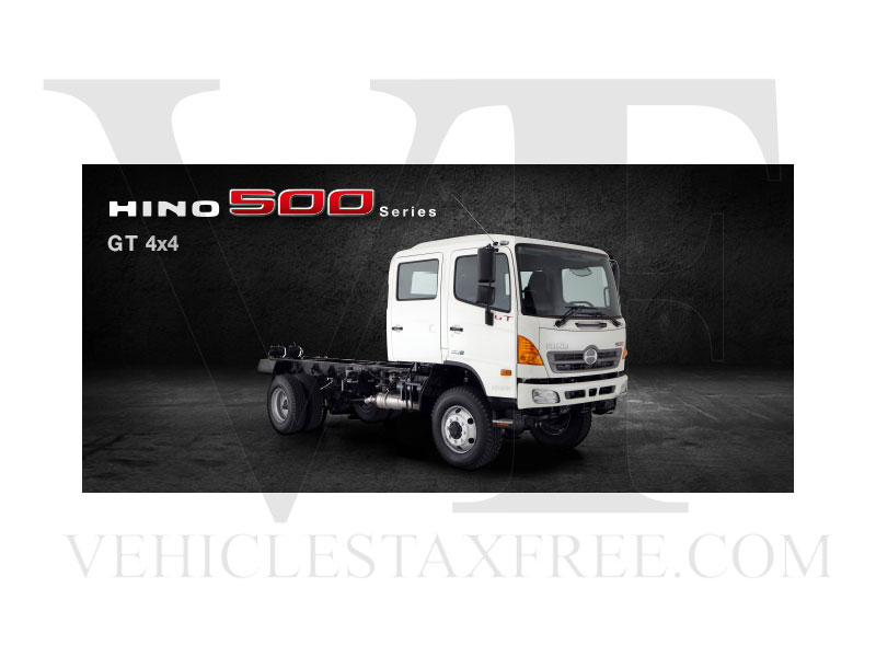 Gama Camiones HINO500 Series Toyota Vehicles Tax Free