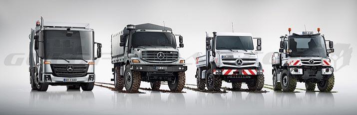 Industriales Mercedes-Benz Offroad Guloffroad