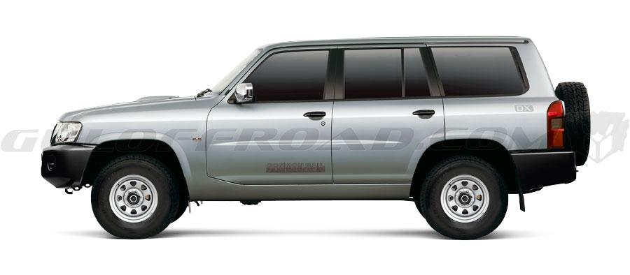 Nissan Patrol GR Y61 Plateado Safari