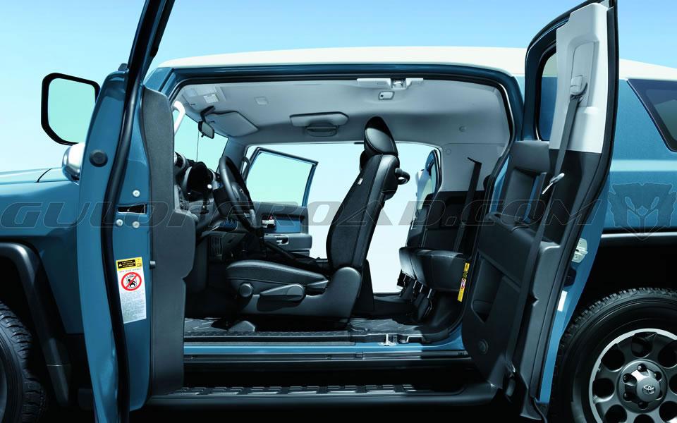 Puertas Suicidas Toyota FJ Cruiser 2016 Guloffroad