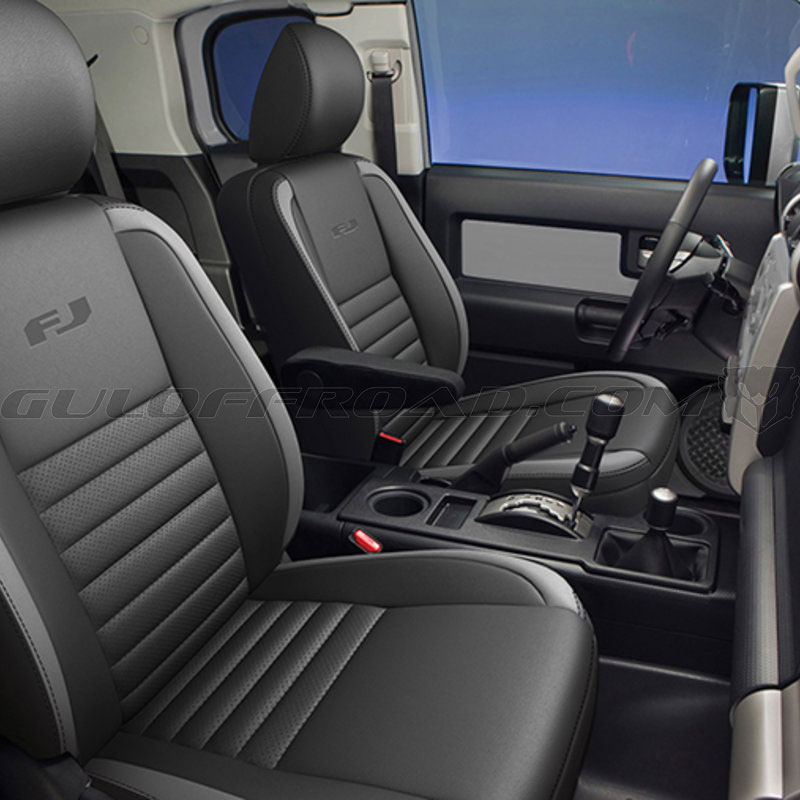Asientos Piel Bitono Toyota FJ Cruiser 2016 Guloffroad