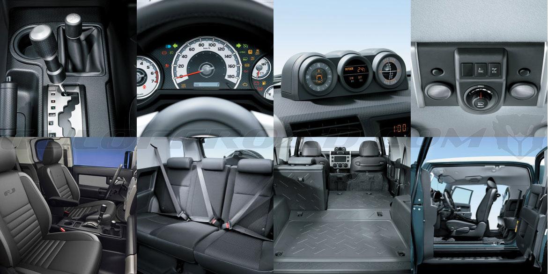 Interior Toyota FJ Cruiser España