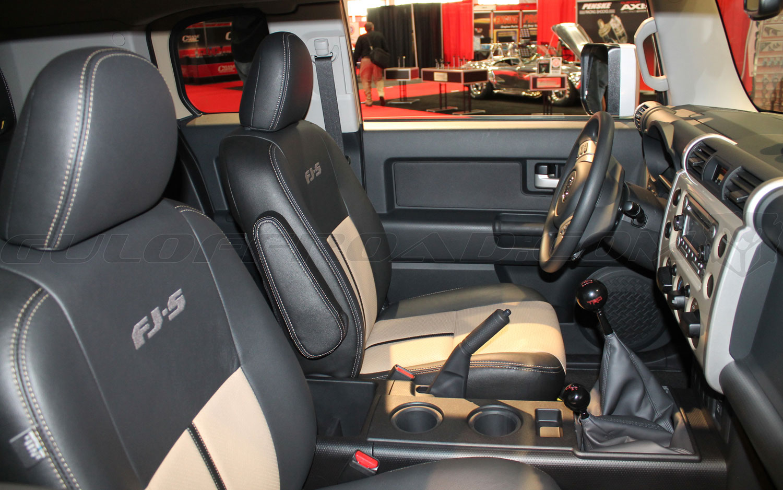 Interior Toyota FJ Cruiser Xtreme 2016 Guloffroad