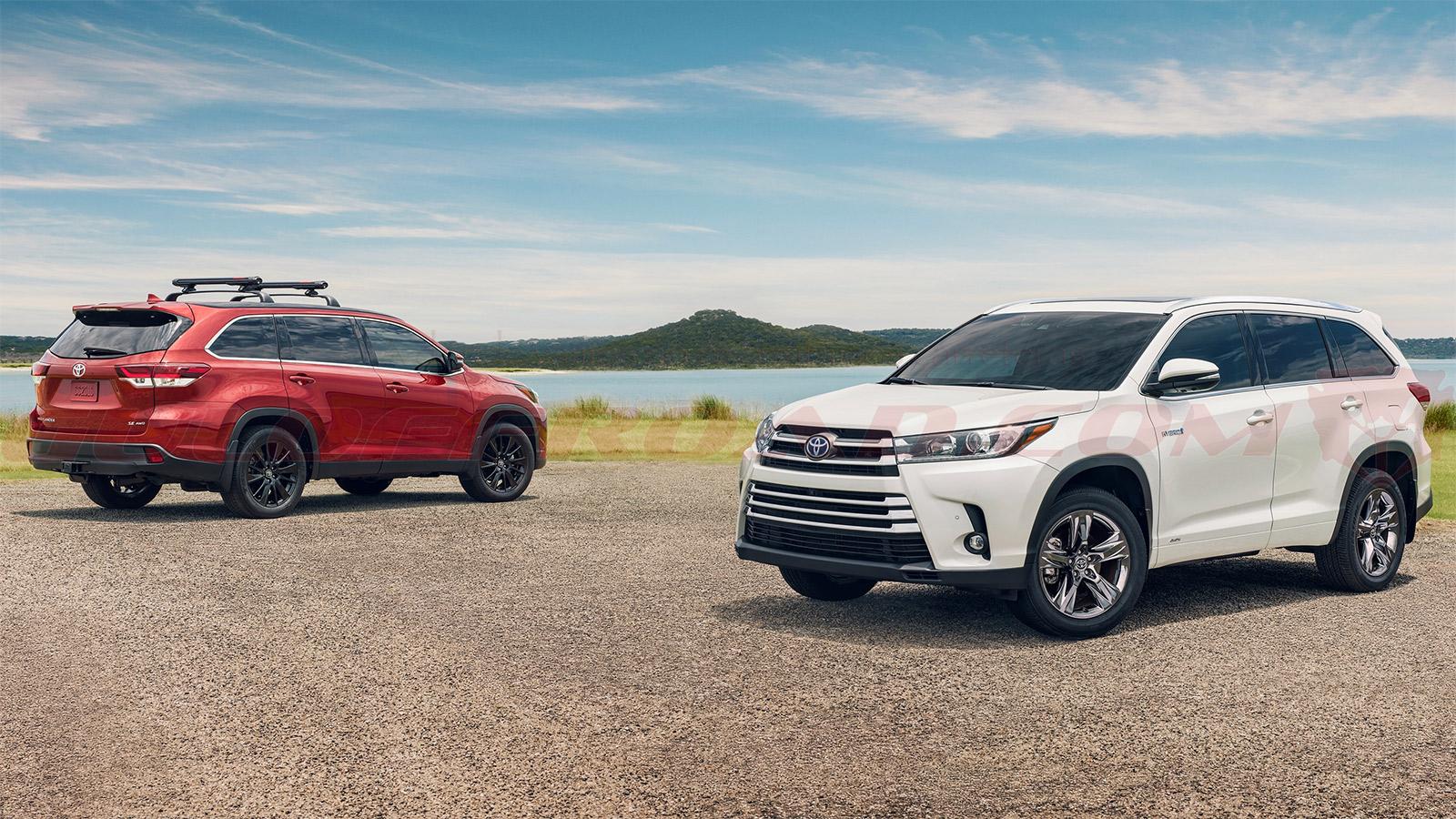Importación Toyota Highlander Hybrid España Guloffroad