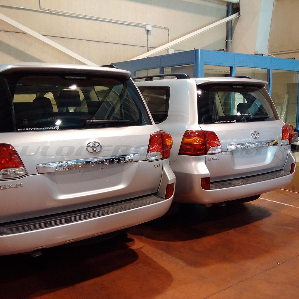 Flotas Toyota LandCruiser 200 GX Guloffroad España