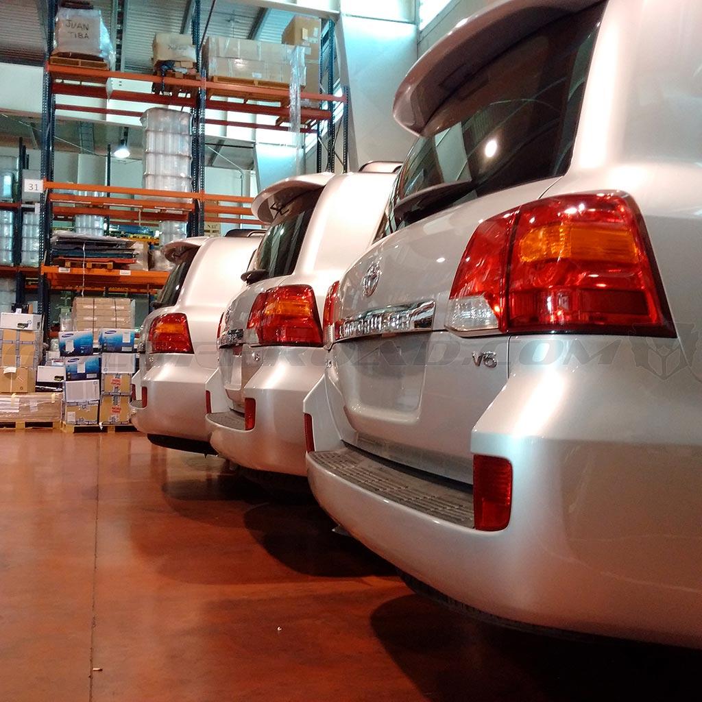 Flotas Toyota LandCruiser 200 GX Spain