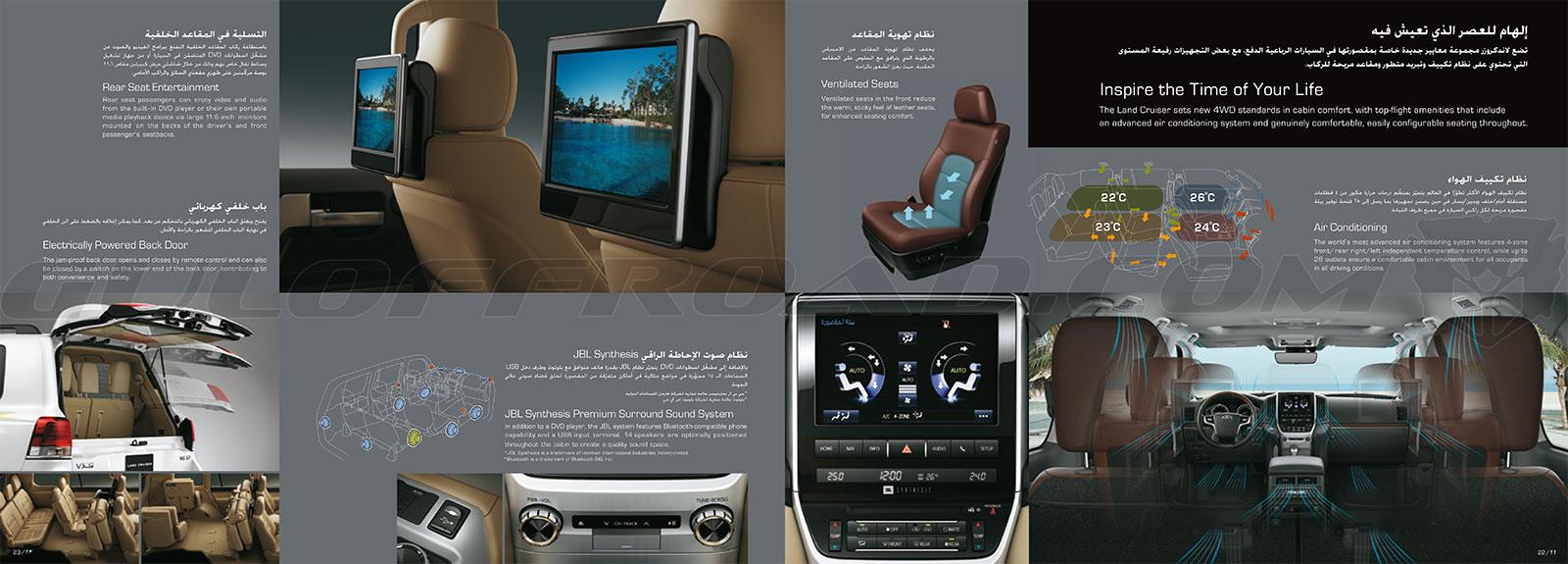 Características Toyota LandCruiser 200