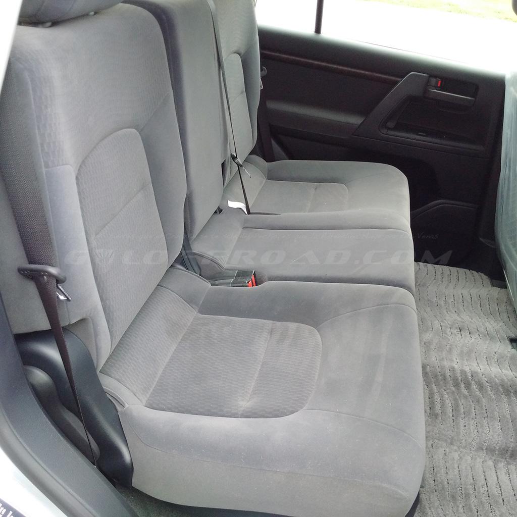Asientos Traseros Toyota LandCruiser 200 GX