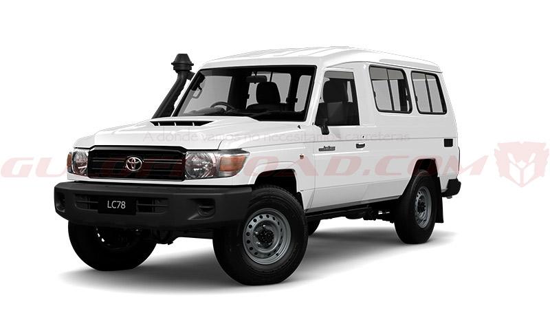 Importación Toyota Landcruiser 78 España Guloffroad