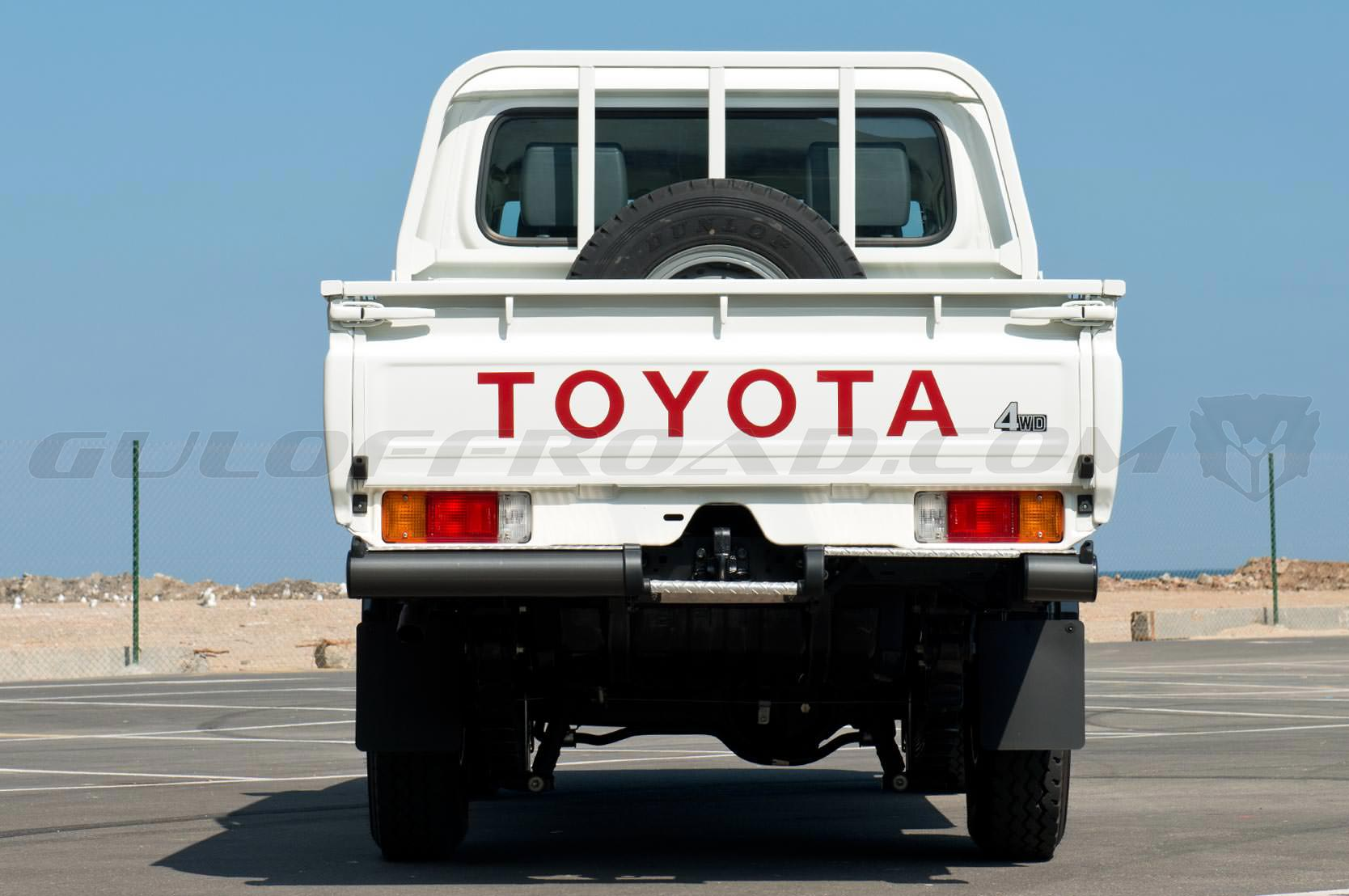 Toyota LandCruiser HZJ79 Pick Up Doble Cabina