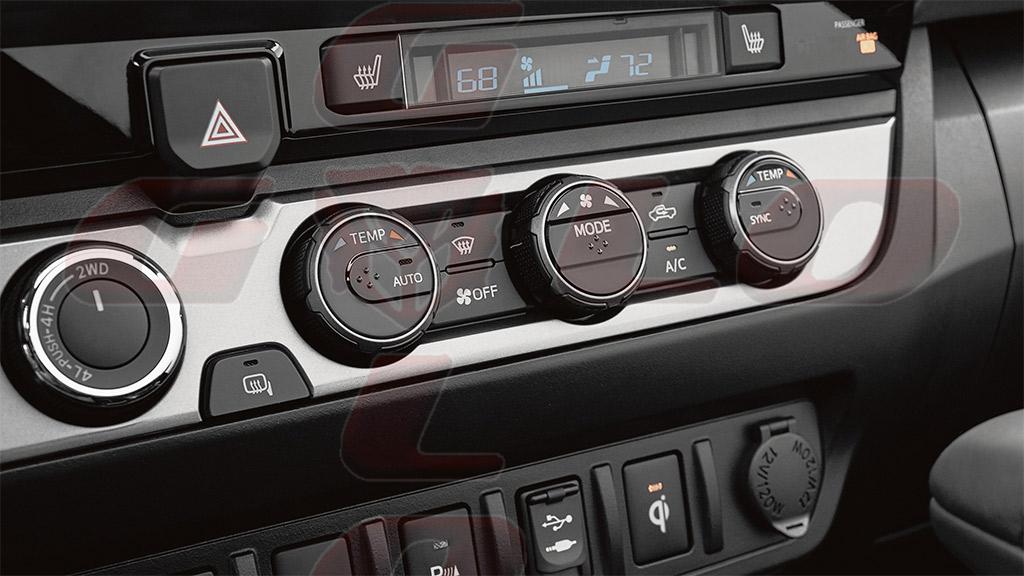 Interior Toyota Tacoma Guloffroad